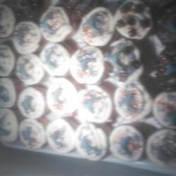 sena's dolphin themed bday cupcakes