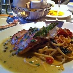 Grouper Piccata - My favorite dinner in Naples
