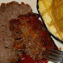 Photo of Tangy Sweet and Sour Meatloaf by Inspired by Home Cooks