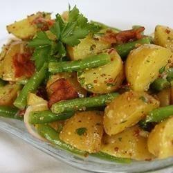 Tangy Potato, Green Bean and Bacon Salad - Personal Recipe - Don