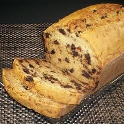 Zucchini Bread with Coconut and Chocolate Chips Recipe