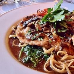 Favorite Naples restaurant fare - Veal Marsala