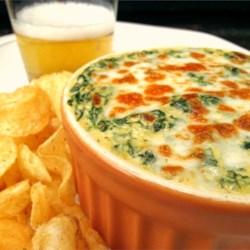 Creamy Cheesy Spinach Dip