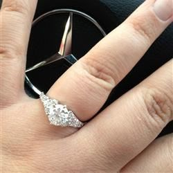 Alicia's Engagement Ring!