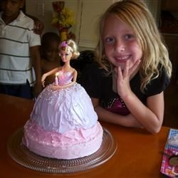 Brittany's Barbie Doll BD Cake
