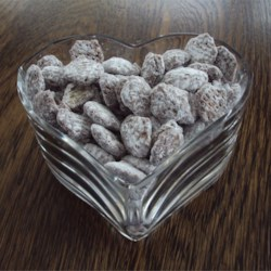 Puppy Chow ... same as Chex Muddy Buddies