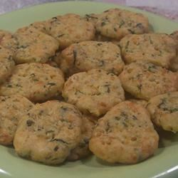 Cheese and Chive Crisps Recipe