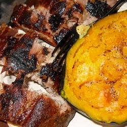 Baby Back Ribs with Acorn Squash