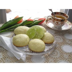 Spring Lime Tea Cookies Recipe