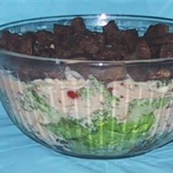 Layered Reuben Salad Recipe