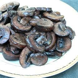 Pinot-Glazed Mushrooms Recipe