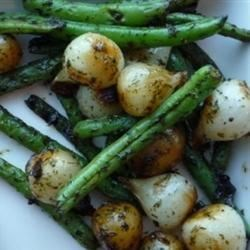 Green Beans with Caramelized Onions Recipe
