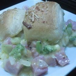 Pillsbury Ham & Broccoli Au Gratin
