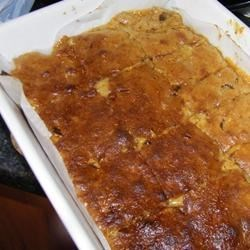 Butterscotch Cookie Bars Recipe