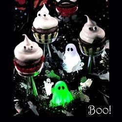 """Boo"" Much Chocolate Cake"
