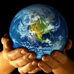 Being kind to the earth is being kind to ourselves. Our fate is in our hands.