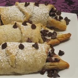 Chocolate and Cream Cheese Filled Crescents