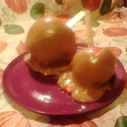 Caramel Apples, using the Best Caramel Apple recipe here on AR.
