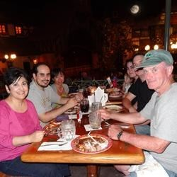 The Family at dinner 2012