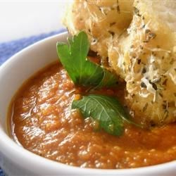 Roasted Tomato Curry Soup Recipe