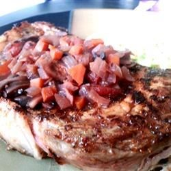 Red Wine Reduction Steak Sauce Recipe