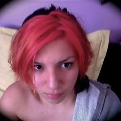My pretty flamingo hair