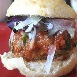 Photo of Delicious Italian Meatball Sliders by sweetie26