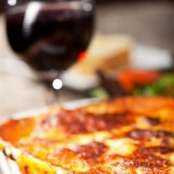 How About Butternut Squash Lasagna Paired with Shiraz
