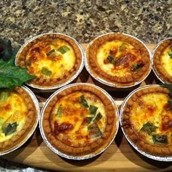 Photo of Mini Quiche Lorraine by Catherine Parnell-Proulx