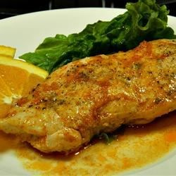 Baked Orange-Glazed Chicken