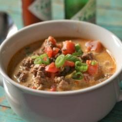 creamy keto taco soup with ground beef printer friendly