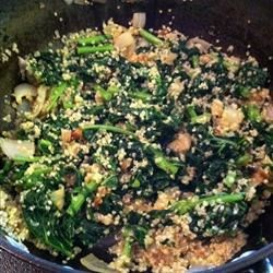Kale and Quinoa with Creole Seasoning