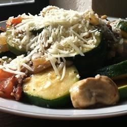 Elegant Zucchini and Tomatoes Recipe