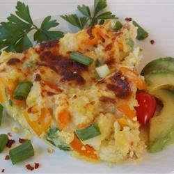 Potato and Pepper Frittata Recipe