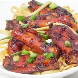 Half Time Hoisin Chicken Wings Recipe
