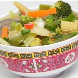Chinese Chicken Vegetable Soup Recipe