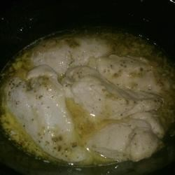 Italian crock chicken