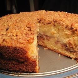 Streusel Apple Coffeecake