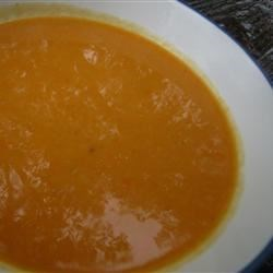 Pressure Cooker Cream of Carrot Soup