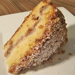 Streusel Apple Coffeecake Recipe