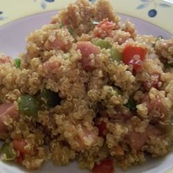 Pork Fried Quinoa Recipe