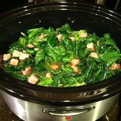 Photo of Slow Cooker Southern Collard Greens by bcjzwillis