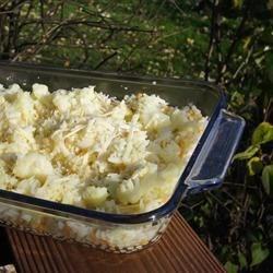Photo of Cheesy Cauliflower Couscous by tattooedsuess