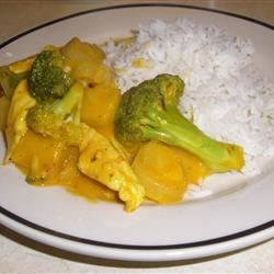 Goof Proof Coconut Curry Chicken