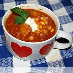 Butternut Squash and Turkey Chili Recipe