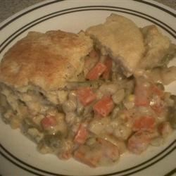 Easy Vegetable Pot Pie Recipe