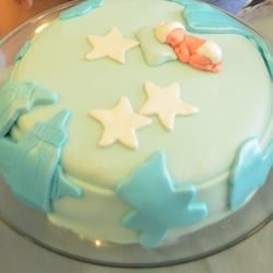 My First Baby Shower Home Baked Cake