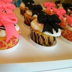 Zebra/Cheetah Cupcakes