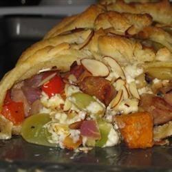 Photo of Apple Chicken Sausage Brunch Braid by ezmars