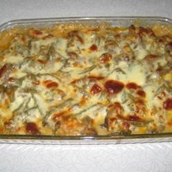 Beer Cheese Philly Steak Casserole